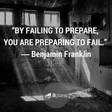 fail to plan...plan to fail