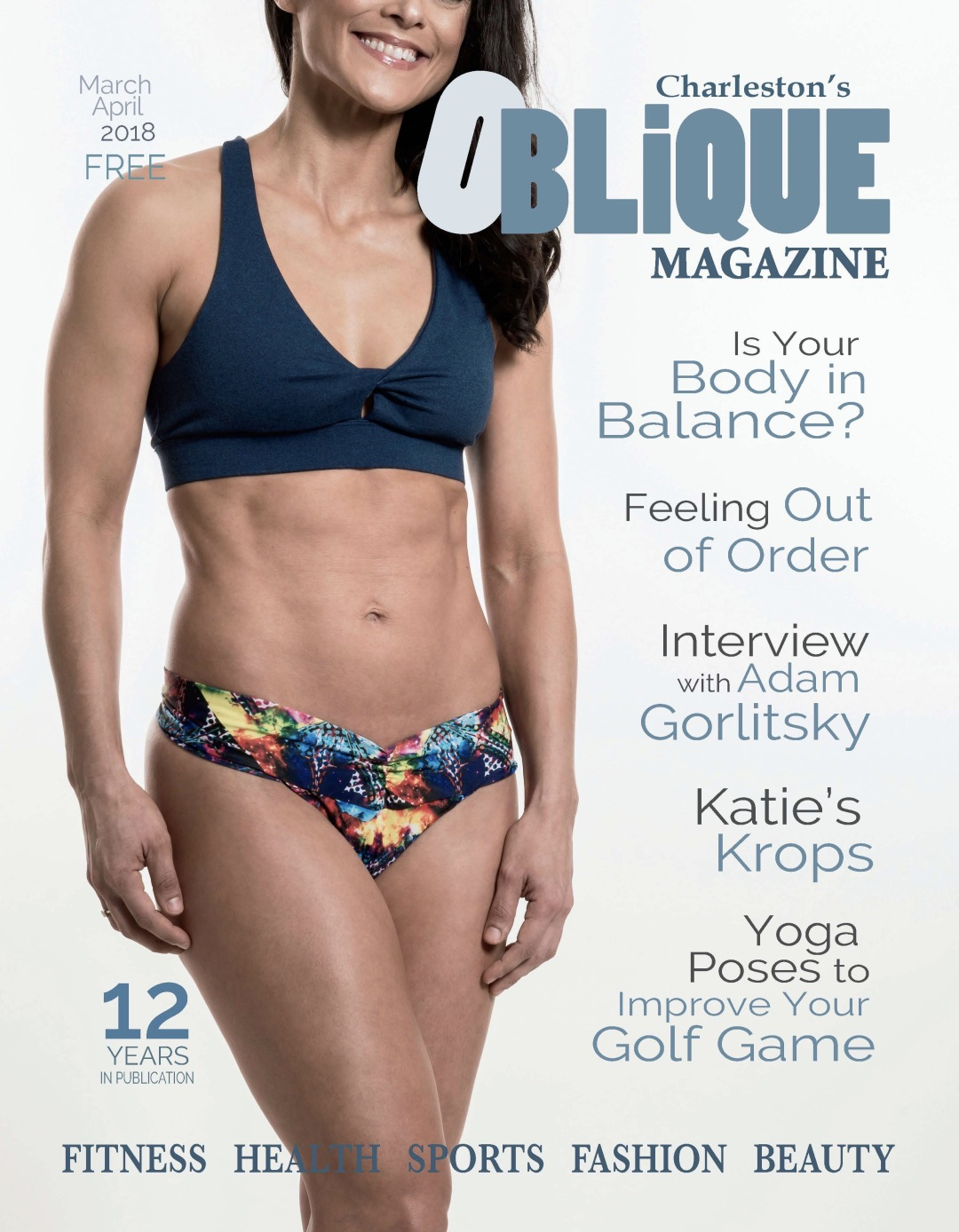 Oblique Magazine Cover!